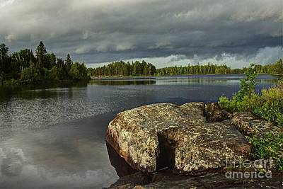 Photograph - Stormy Morning by Larry Ricker