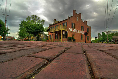 Photograph - Stormy Morning On Main Street by Steve Stuller