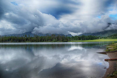 Photograph - Stormy Morning Over Frisco by Marie Leslie