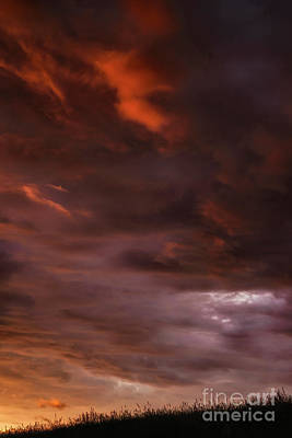 Photograph - Stormy Morning Sky by Thomas R Fletcher