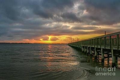 Photograph - Stormy Morning Sunrise by Tom Claud