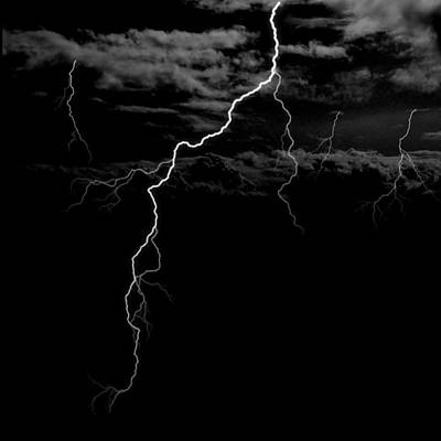 Creepy Digital Art - Stormy Night by Brad Scott