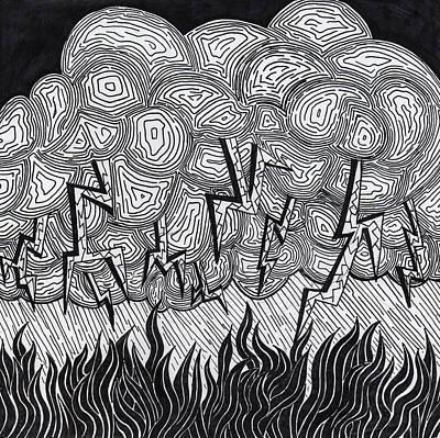 Stormy Night Art Print