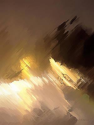 Painting - Stormy Night by John WR Emmett