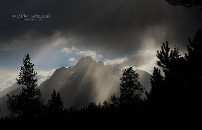 Photograph - Stormy Night by Mike Fitzgerald