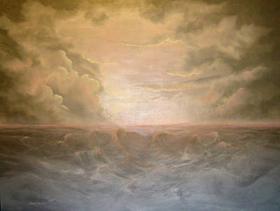 Painting - Stormy Night by Sandy Dusek