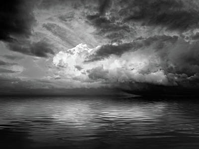 Photograph - Stormy Nights In Mono by Gill Billington
