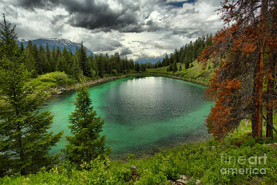 Photograph - Stormy Over The Valley Of Five Lakes by Adam Jewell