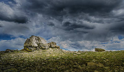 Photograph - Stormy Peak 1 by Mary Angelini