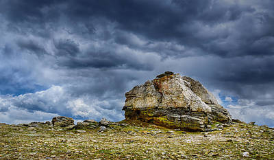 Photograph - Stormy Peak 2 by Mary Angelini