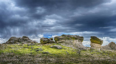 Photograph - Stormy Peak 3 by Mary Angelini
