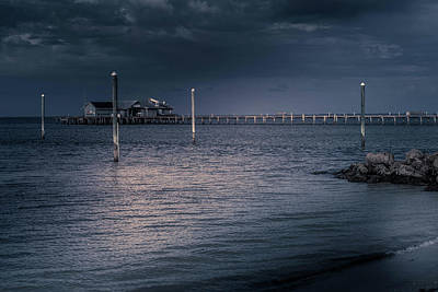 Photograph - Stormy Pier by Doug Camara