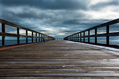 Photograph - Stormy Pier  by Douglas Milligan