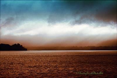 Photograph - Stormy Potomac River Signed by Buddy Scott