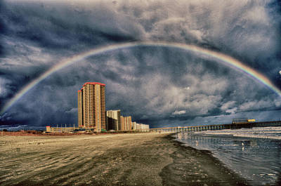 Photograph - Stormy Rainbow by Kelly Reber