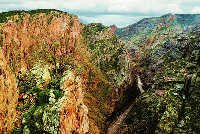 Photograph - Stormy Royal Gorge by Susan Vineyard
