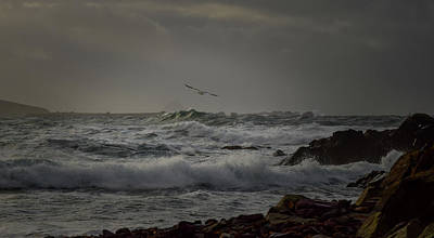 Photograph - Stormy Sea by Barbara Walsh
