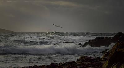 Photograph - Stormy Sea by Barbara Walsh