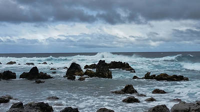 Photograph - Stormy Sea by Pamela Walton