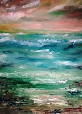 Painting - Stormy Sea by Patricia Taylor