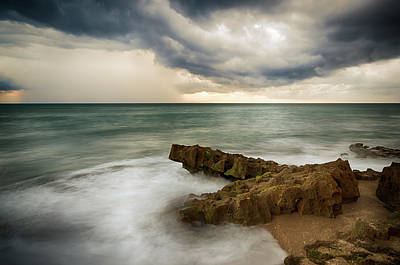 Beach Photograph - Stormy Sea by R Scott Duncan
