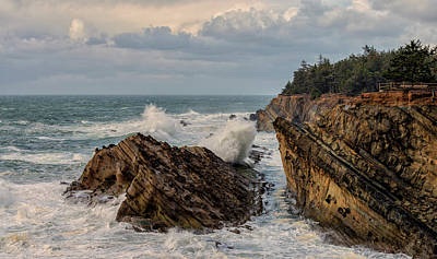 Photograph - Stormy Seas And Skies by Loree Johnson