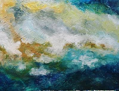 Painting - Stormy Seas by FayBecca Designs
