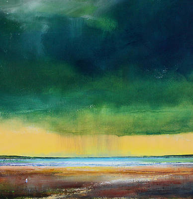 Stormy Seas Art Print by Toni Grote