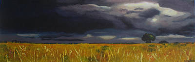 Wall Art - Painting - Stormy Skies by Alison Stafford