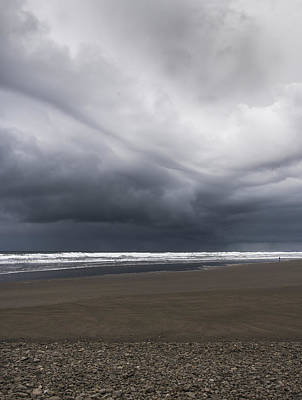 Photograph - Stormy Skies At Seaside by Robert Potts