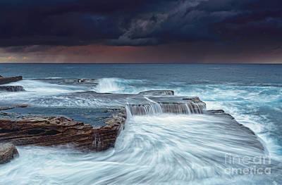 Maroubra Photograph - Stormy Skies At Sunrise by Leah-Anne Thompson