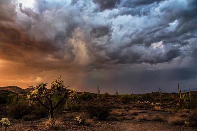 Photograph - Stormy Skies At Sunset  by Saija Lehtonen