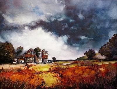 Stormy Skies Art Print by Geni Gorani