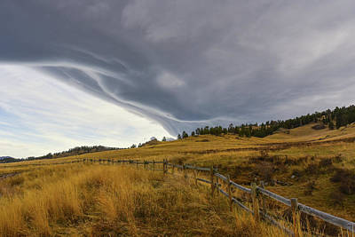 Photograph - Stormy Skies In Wyoming by Keith Boone