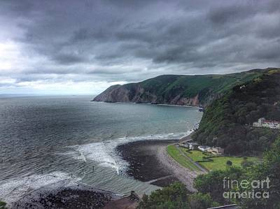 Photograph - Stormy Skies Over Lynmouth by Joan-Violet Stretch