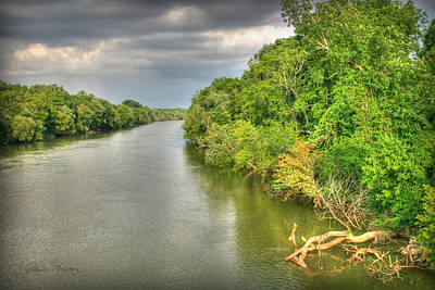 Photograph - Stormy Skies Over The Coosa River by Patricia Montgomery