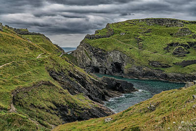 Photograph - Stormy Skies In Cornwall by Scott Carruthers