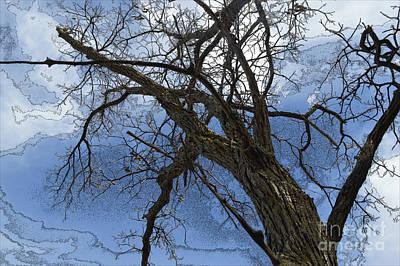Photograph - Stormy Sky Blue by Renie Rutten