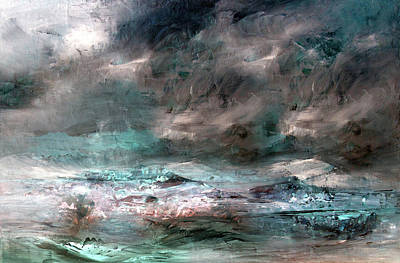 Mixed Media - Stormy Sky by Davina Nicholas