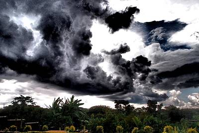 Photograph - Stormy Sky by Dora Hathazi Mendes