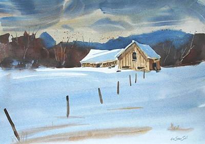 Painting - Stormy Sky by Len Stomski