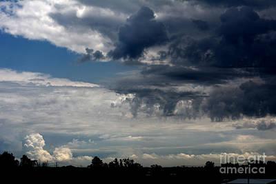 Stormy Skyline Art Print