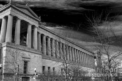 Soldier Field Photograph - Stormy Soldier by David Bearden