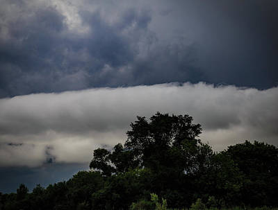Photograph - Stormy Summer Sky by Kathleen Scanlan