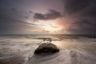 Photograph - Stormy Sunrise by Will Gudgeon