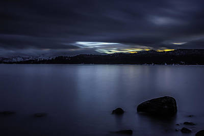 Photograph - Stormy Sunset by Albert Seger