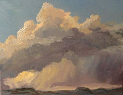 Painting - Stormy Sunset by Jo Anne Neely Gomez