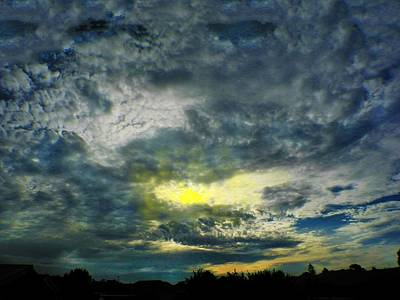 Photograph - Stormy Sunset by Mark Blauhoefer