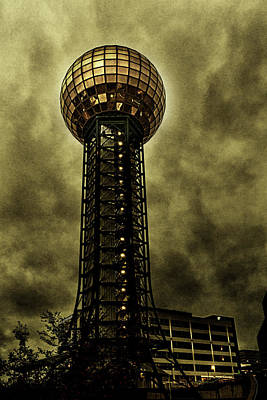 Photograph - Stormy Sunsphere by Sharon Popek