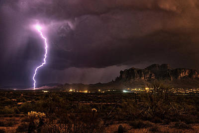 Photograph - Stormy Superstitions  by Saija Lehtonen